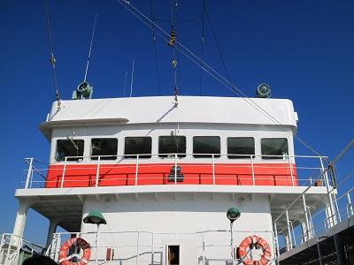 遠洋マグロ漁船 ブリッジ