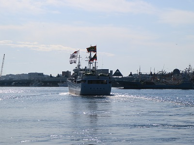 気仙沼の若手漁師の旅立ち