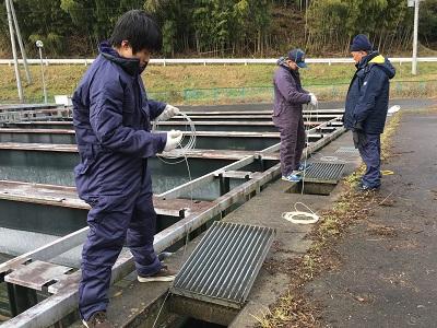 遠洋マグロ漁船 実技研修4