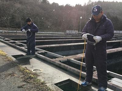 遠洋マグロ漁船 実技研修3