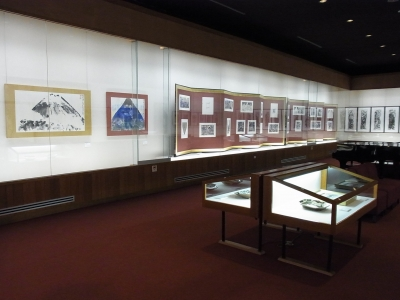 富嶽頌 展示室