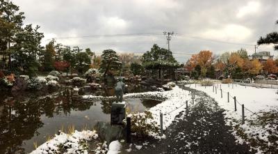 平地でも積雪