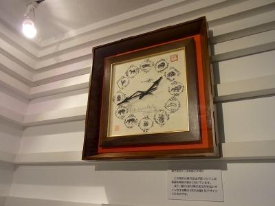 時計十二支指示図文字