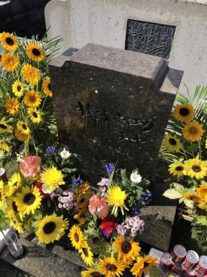 志功さんのお墓