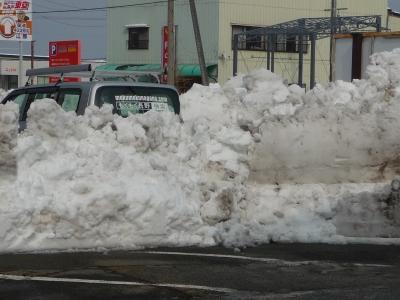 置き場のない雪