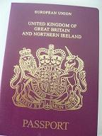 イギリスのパスポート