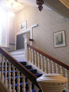 ホテル英国風階段