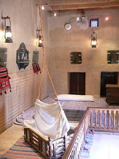 伝統家屋の寝室どす。