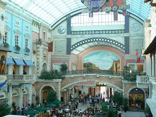 ヴェネチア風ショッピングモール、Mercato
