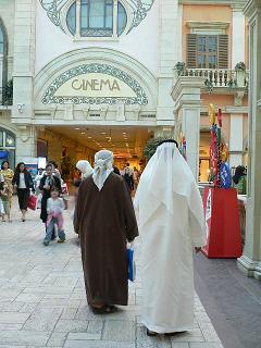 アラビアンな人たちも