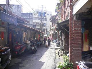 風情のある台湾の路地裏