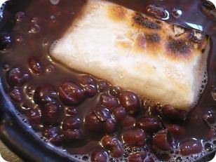 小豆の豆から煮て作りました!