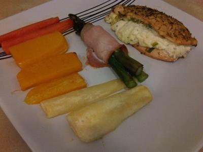 Sweetie作のチキンと野菜ロースト