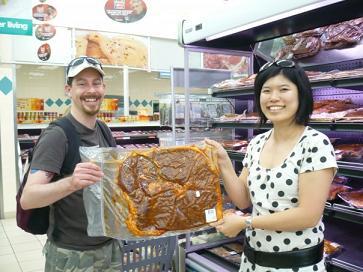 南アフリカの巨大肉!