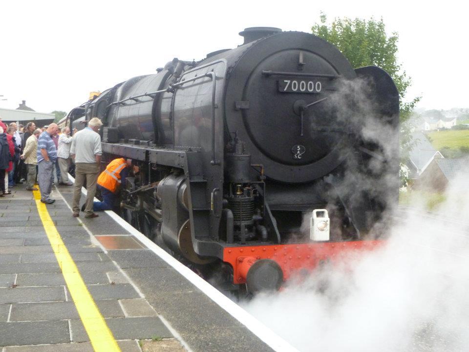 イギリスの蒸気機関車