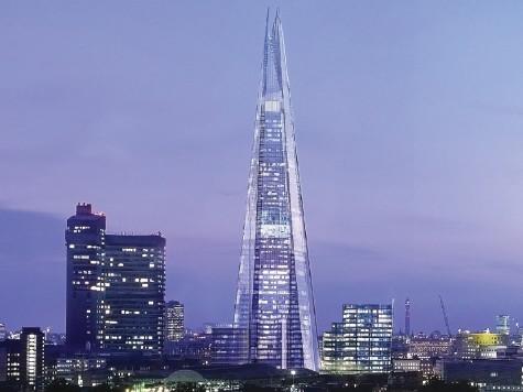 ロンドンの高層ビル・シャード