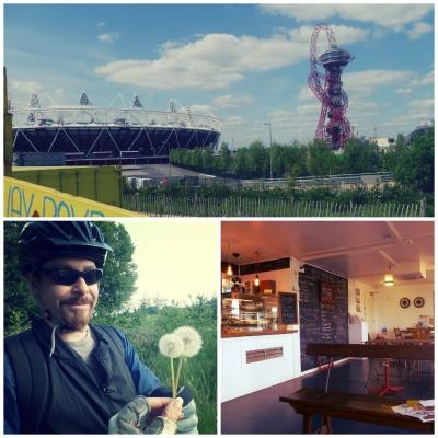 ロンドンで週末サイクリング