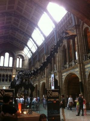 ロンドンの恐竜