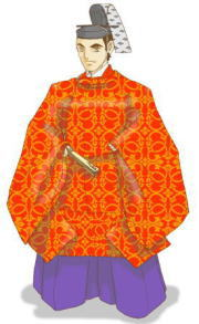 衣冠(赤袍)サンプル