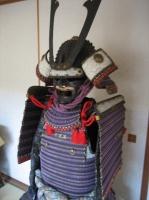 紫糸威二枚胴