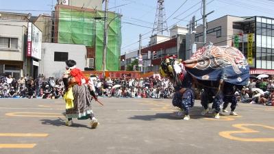 H250525吉田町獅子舞?