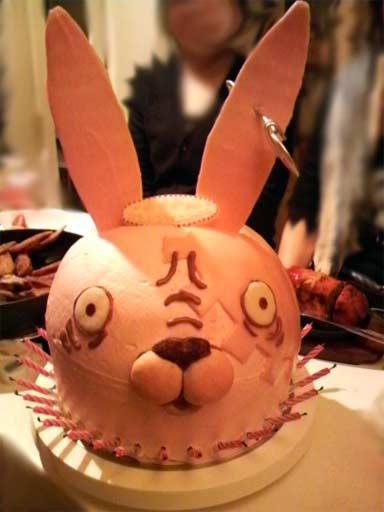ウサビッチケーキ1