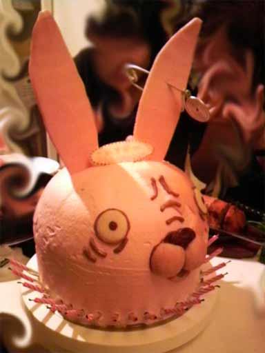 ウサビッチケーキ2