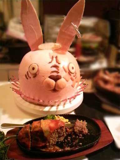 ウサビッチケーキ3