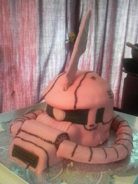 シャアザクケーキ