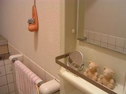 トイレのディスプレー