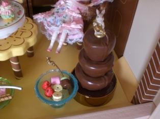 「チョコファウンテン」