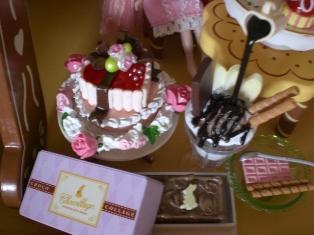 「記念日のおもてなし」「BIGチョコレートパフェ」「ギフトチョコレート」