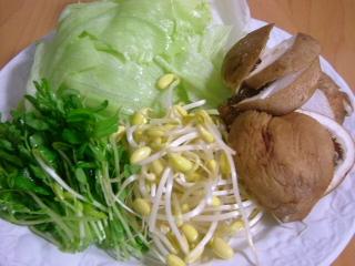 20051026夕食 豆乳鍋(2日目)