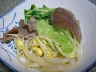 20051026夕食 豆乳鍋(2日目3)