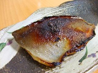 20060612夕食 本えぼ鯛の粕漬け