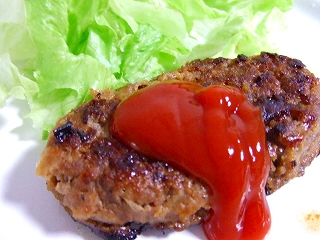 20070721夕食 ハンバーグ