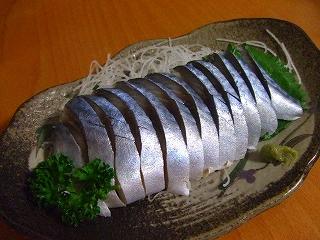 20070923夕食 しめ鯖