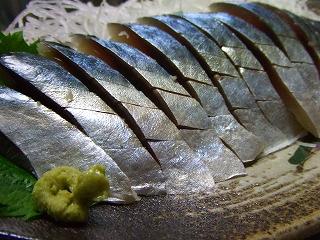20081222夕食 しめ鯖