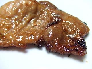 2090207夕食 味噌漬け肉のソテー