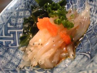 20090421夕食 白魚の握り