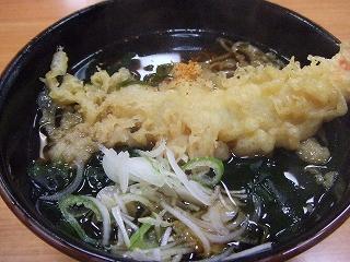 20090516昼食 天ぷらそば