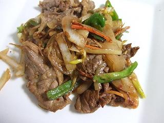 20090516夕食 野菜炒め