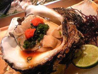 20090522夕食 岩牡蠣