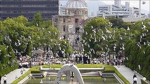 第66回広島平和記念式典