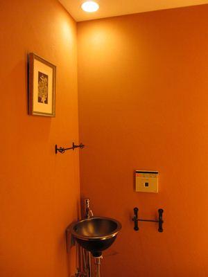 額装後-トイレ