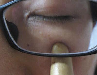 鼻づまりのツボ