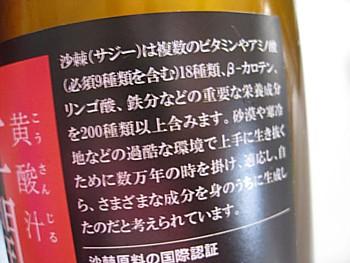 グリーンスムージーとサジージュース6