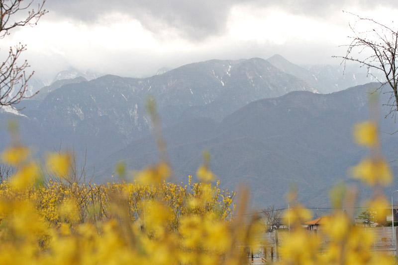 フィオーレ、南アルプス側景観2
