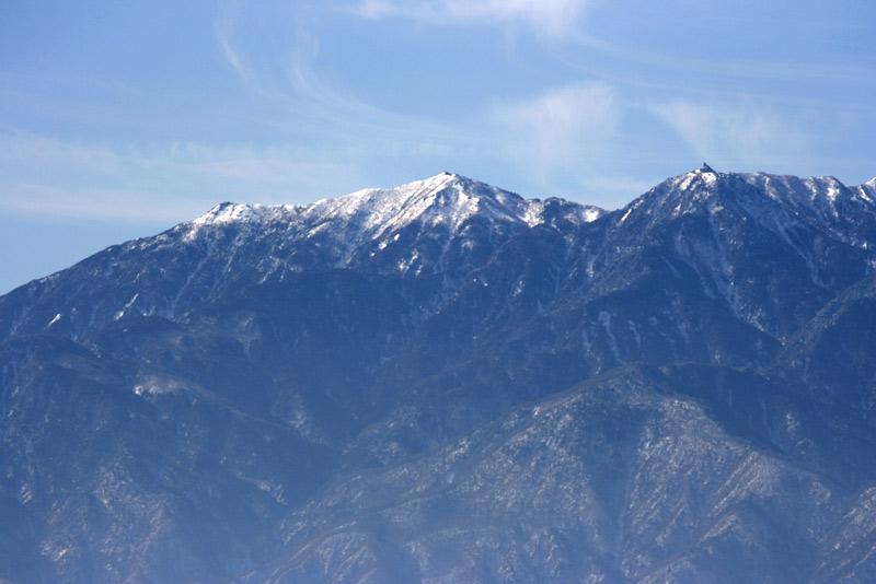南アルプス、鳳凰三山