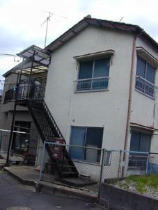 改造する前のアパートメント
